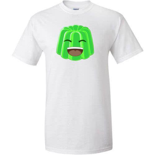 Jalea de cara blanca Verde Camiseta para niños Juegos Gamer youtuber Ventilador Tamaño L 9-11