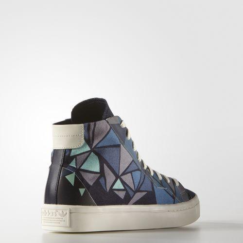 Adidas Originals Women's CourtVantage Mid Mid Mid shoes Size 5 us S78851 08b1fb