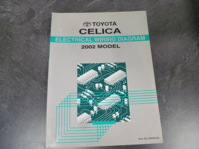 2002 Toyota Celica Hatchback Electrical Wiring Diagrams