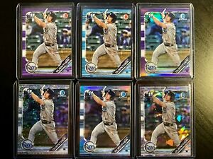 JAKE-GUENTHER-20-Bowman-Investment-Lot-TB-RAYS-2019-Draft-Sapphire-amp-Refractor