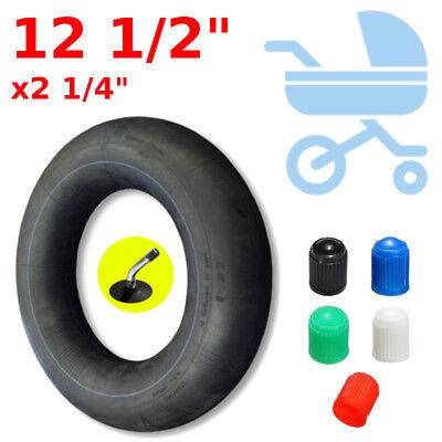 """CHAMBRE A AIR 12 1//2 x 2 1//4/"""" VALVE COUDE POUSSETTE VTT DRAISIENNE ENFANT CYCLE"""
