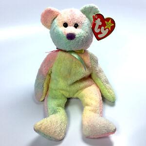 1d8c2247845 TY Beanie Baby - GROOVEY the Bear (8.5 inch) - MWMTs Stuffed Animal ...