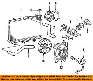 image is loading hyundai-oem-01-12-elantra-engine-coolant-thermostat-