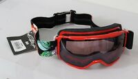2016 Smith Grom Youth Ski Snowboard Goggles Red Angry Birds Ignitor Mirror