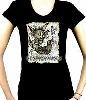 Necronomicon Demon Women's Babydoll Shirt Top Occult Book Of The Dead Cthulhu