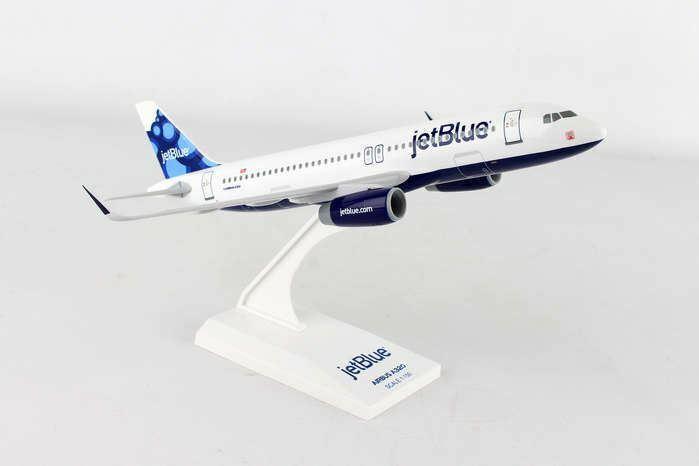 SKR963 Skymarks Jetblå A320 1 150 Blåbär modellllerlerl Airplan