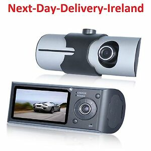 HD-1080P-Dual-lens-LCD-Car-DVR-Night-Vision-Rear-View-Dash-Camera-Recorder-Taxi