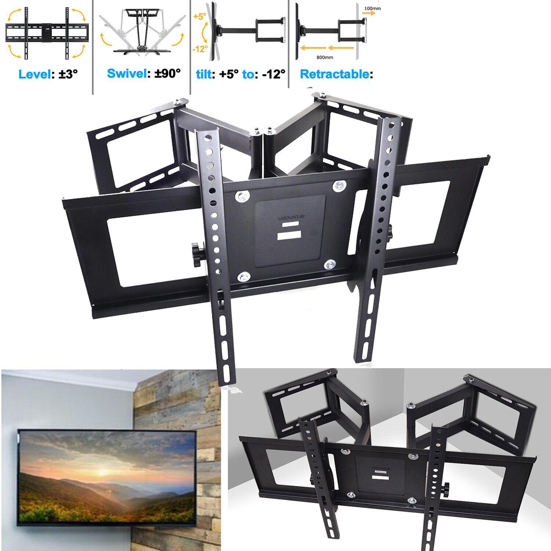 """Heavy Duty Full Motion Swivel TV Wall Mount  50 55 60 65 70 75 80 85 90/"""""""