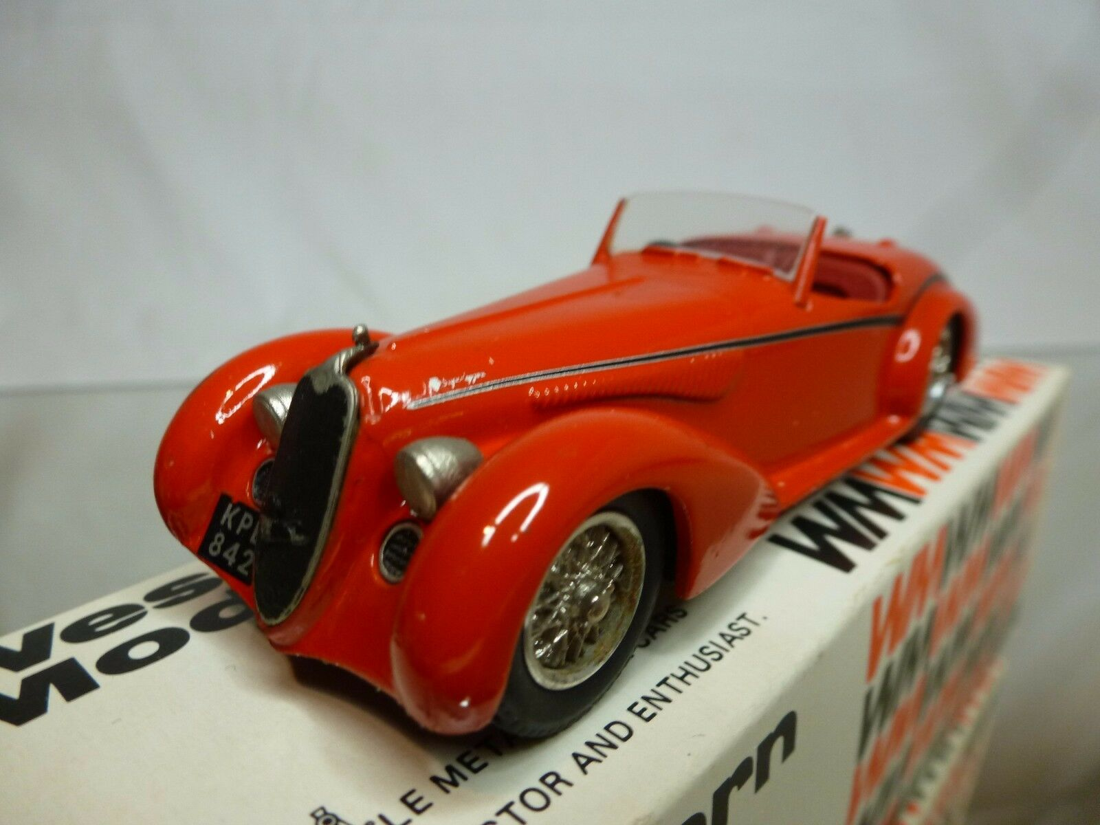 WESTERN WESTERN WESTERN MODELS WMS33 KIT (built) ALFA ROMEO 8C 2900B SPIDER by TOURING - 1 43 95cbac