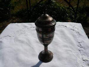Alter-antiker-Pokal-Schuetzenkoenig-Wels-1939-Osterreich-Original