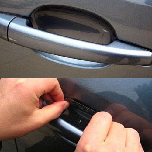8//20pcs Universal Invisible Car Auto Door Handle Anti-Scratch Protector Films