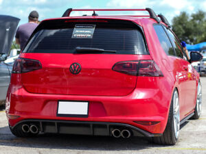 VW-GOLF-MK7-VII-REAR-BUMPER-SPOILER-SKIRT-DIFFUSER