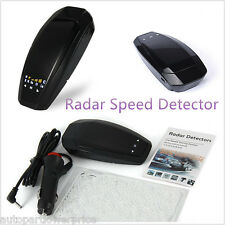 Radar Laser Camera Detector Full Band Speed Police Safe Alarm Voice+ LED Display
