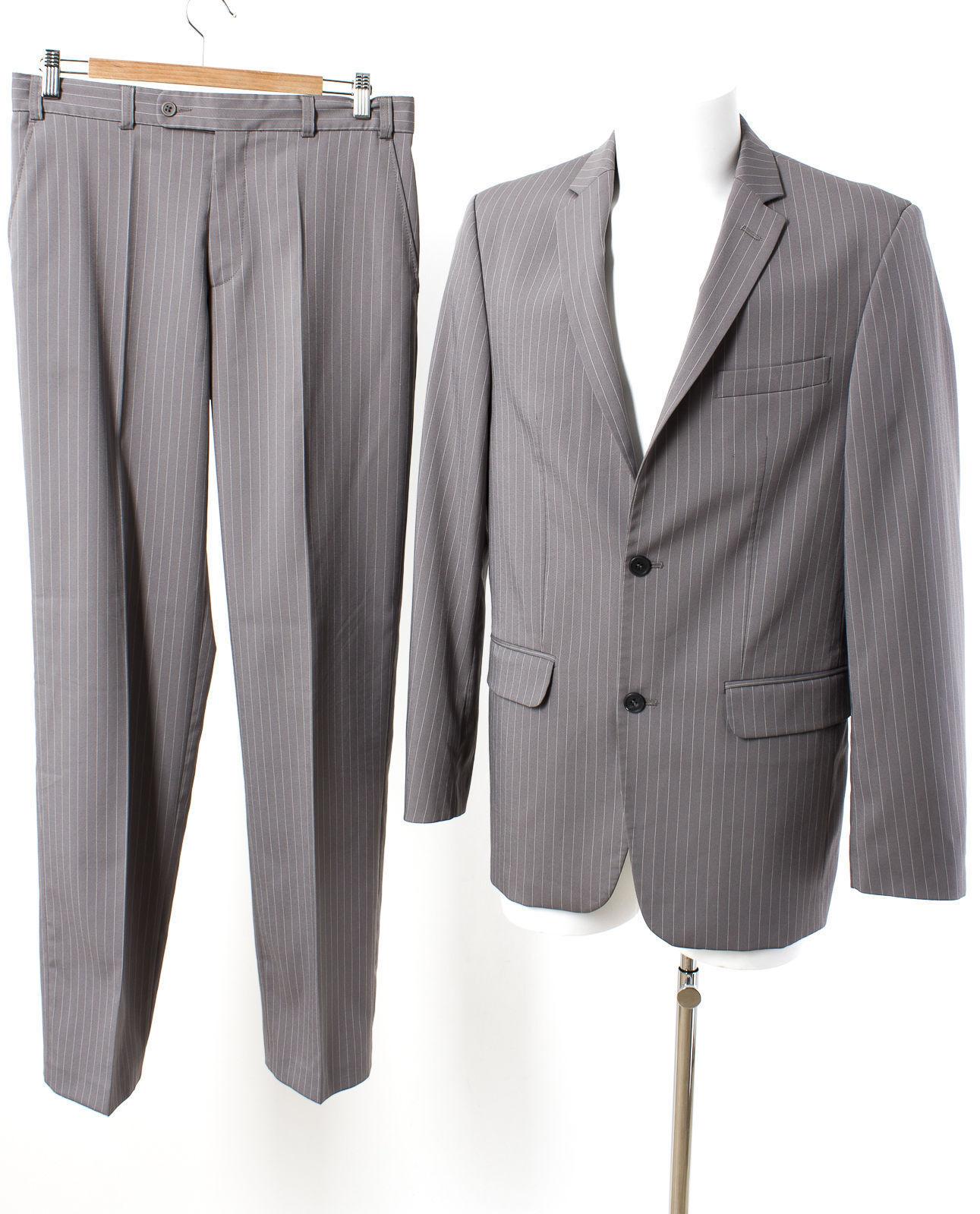Angelo Litrico Anzug Gr. 94 (schlank) Sakko Hose Geschäft Suit