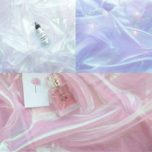 Shiny Organza Silk Photo Background Cloth Party Wedding DIY Props Decor Fabric