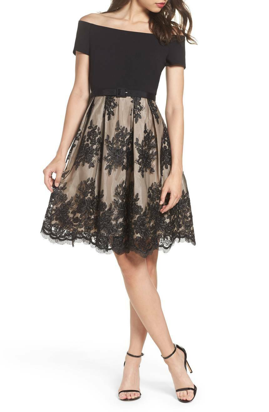 Eliza J  Off the Shoulder Lace Dress ( Size Size Size 4) 79b580