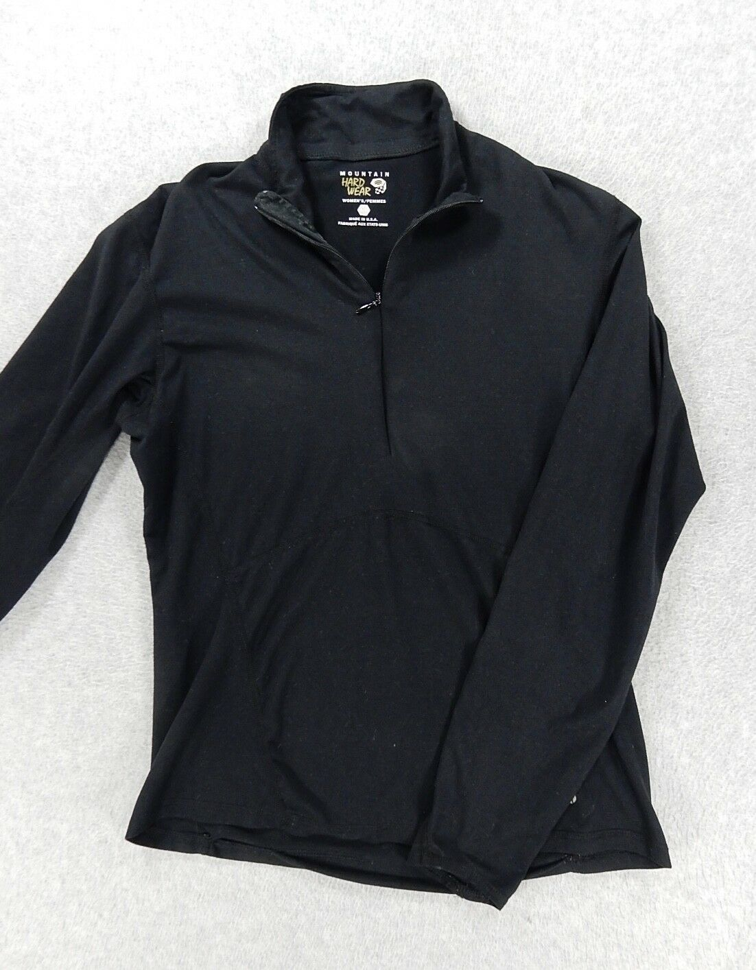 Mountain Hardwear 1/4 Zip Fitted Base Layer Pullover (Womens Small)