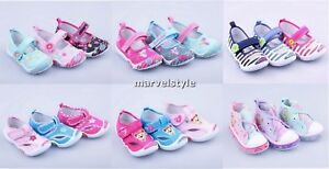 BABY GIRLS CANVAS SHOES TRAINERS
