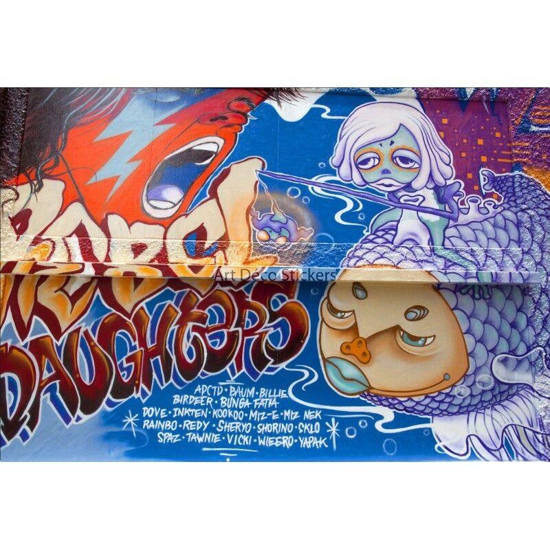 Wandaufkleber Deko Tag Graffiti Ref 11109 11109