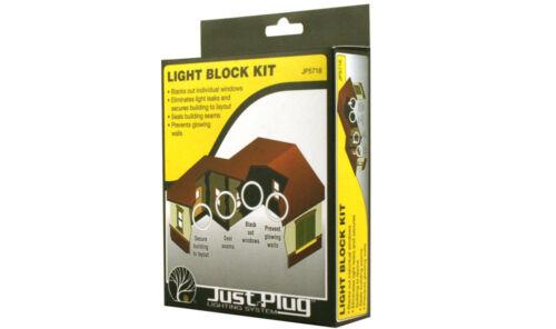 OO gauge Free Post Woodland Scenics JP5716 Light Block Kit for buildings