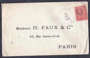COLOMBIE-OLD-LETTER-DESTINATION-PARIS-YEAR-1898
