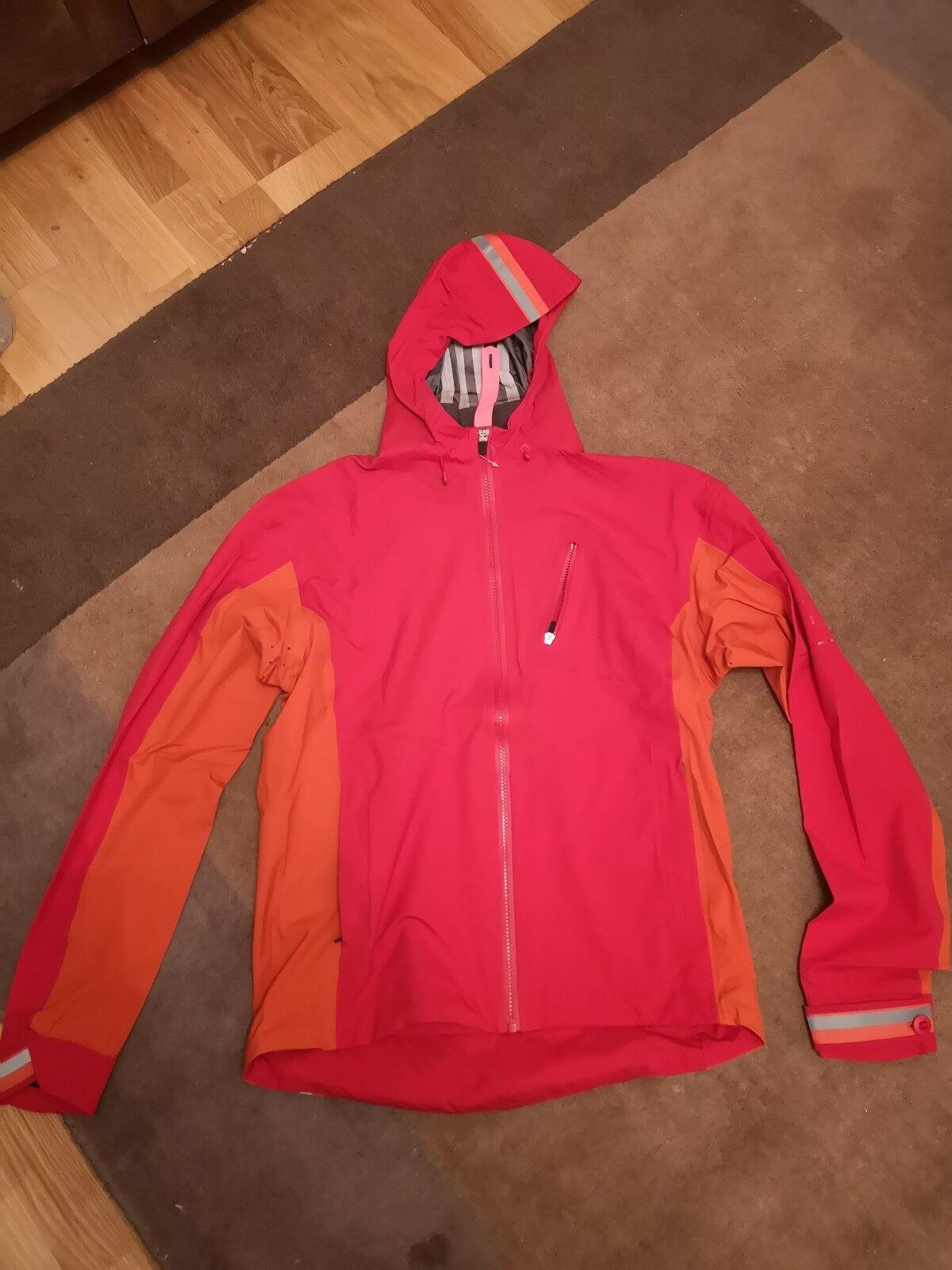 New RAPHA Hooded Rain Jacket Größe M Rrp  stc7650