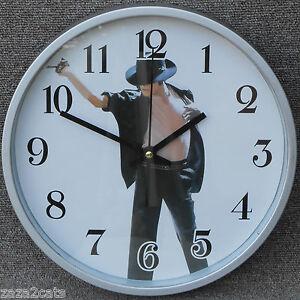 Horloge Pendule Michael Jackson Roi De La Pop Billie Jean Ideal Fan Zaza2cats