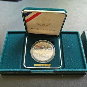 USA-1-Dollar-Civil-war-Battlefield-1995-Memorial-coin-OVP-Proof-selten