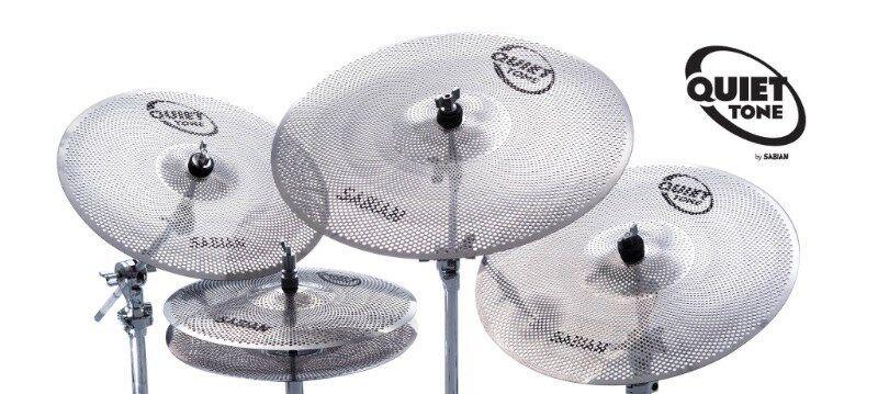 Sabian Quiet Tone Practice Cymbal Set, 14in,16in,18in, 20in
