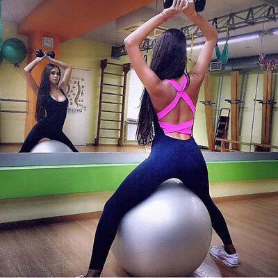 High Quality Womens Lady Jumpsuit Sport Wear Pants Sports/Training/Gym/Run/Yoga