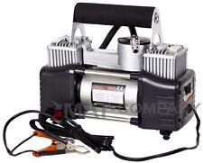 KFZ Auto Kompressor 10bar 85L/Min Doppelzylinder mit Zubehör Druckluftkompressor