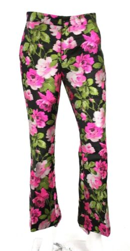 GUCCI $1,800 Pink Floral Jacquard Butterfly Embroi