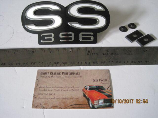 "1967 1968 Chevy Camaro Grille Emblem /""RS/""  GM Restoration Part Brand New SHARP!"