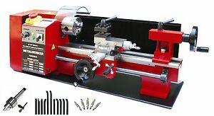 Sieg-C3-14-034-x7-034-350x180mm-Metal-Lathe-W-Auto-Feed-amp-Speed-DRO-and-Tool-Kit