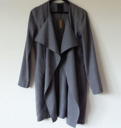UK Afrah taglia zecca Bnwt Grey Nuovo Blazer Color Minus 10 36 In Superb di RxzEqAwzH