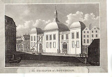 The Exchange At Rotterdam - Print c1700s / Holland