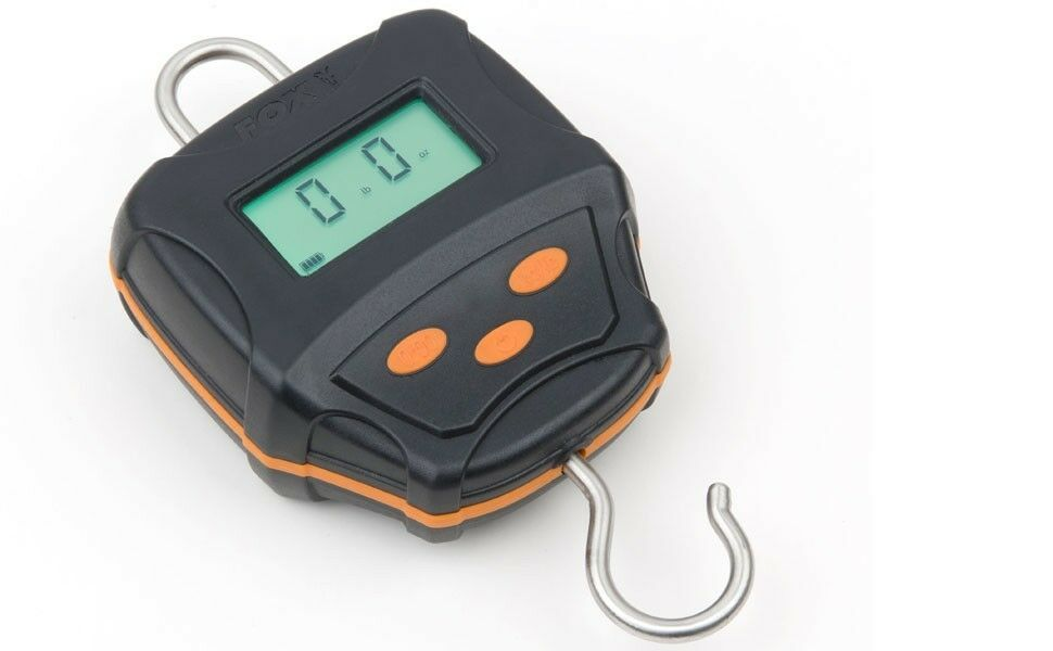 Fox Digital Scales Case, 60kg incl. Case, Scales Angelwaage mit digital Display, Fischwaage 17f268