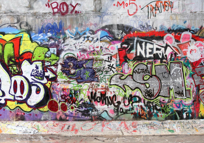 Fototapete Graffiti 3  Tapete Vliestapete
