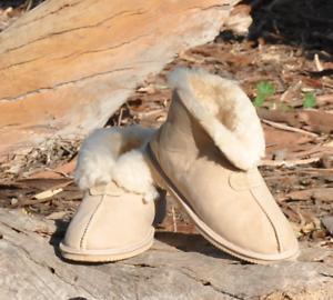Ladies-Ugg-Slippers-Merino-Sheepskin-Womens-Boots