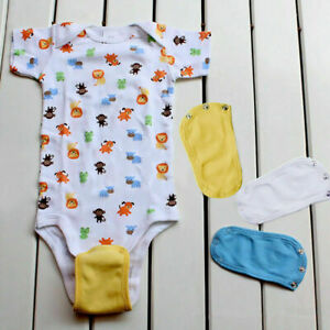 Baby-Romper-Partner-Super-Utility-Bodysuit-Jumpsuit-Diaper-Extend-Lengthen-G1O3