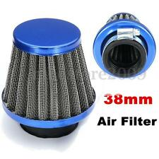 Blue 38mm Air Filter For Chinese GY6 50cc Moped Scooter ATV Dirt Bike Motorcycle