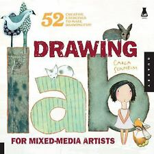 Lab: Drawing Lab for Mixed-Media Artists : 52 Creative Exercises to Make Drawing Fun by Carla Sonheim (2010, Paperback)