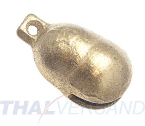 Glöckchen Schelle 32mm Echt Messing rostfrei Glocke Schellen Messingglöckchen