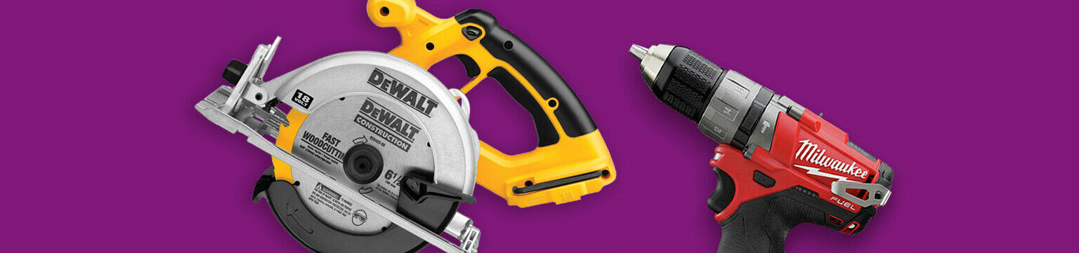 Reconditioned Tools Up to 65% Off