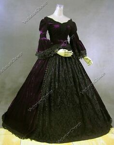 image is loading victorian medieval game of thrones dark witch gown - Halloween Costumes Victorian