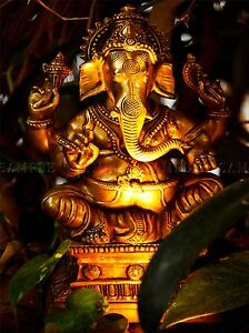 MODERN-PHOTOGRAPHY-GANESH-HINDU-GOD-ELEPHANT-LARGE-POSTER-ART-PRINT-BB3161A