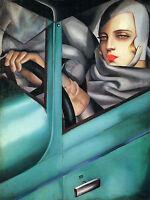 8 X 6 Art Deco Tamara De Lempicka Ceramic Mural Bath Gift Tile 47