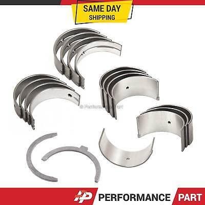 Main Rod Bearings Fits 88-95 Honda Civic CRX Del Sol 1.5L SOHC D15B1 D15B7 D15Z1