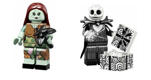LEGO 71024 Disney 2 Minifigures JACK SKELLINGTON & SALLY SEALED IN HAND