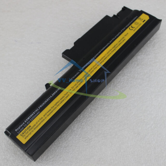 6 Cell NEW Battery for IBM ThinkPad T40 T40p T41 T41p T42 T42p 08K8214 92P1010